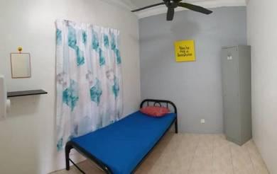 Bilik sewa TERBAIK fully furnished dekat Putrajaya UPM HOSP SERDANG