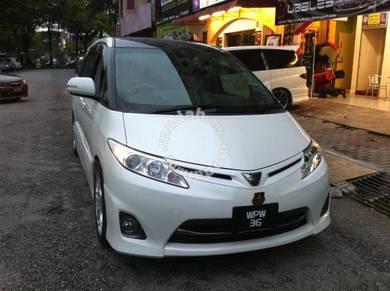 Estima facelift 10 Aeras front bumper set only