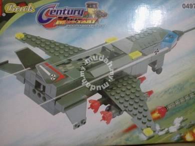 Bricks- Enlighten 0497 Battle Plane building block
