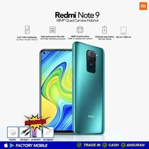 ORIGINAL malaysia set Xiaomi Redmi note 9 4/128