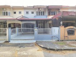 Kulim square double storey house for RNT