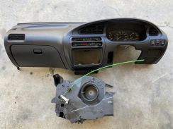 Mira L5 Black Dashboard with RPM Meter for Kancil