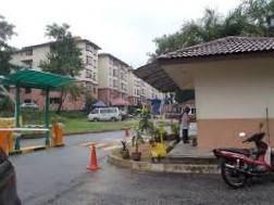 (green view) apartment sri hijauan blok d, taman ukay perdana, ampang