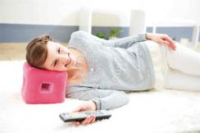 Cogit POP cube TV cushion Berry Pink