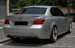 Bmw e60 rear bumper m sport