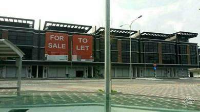 RASAH PRIMA. New Shop Lot for Rent
