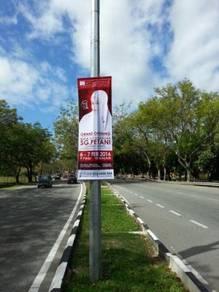 Servis Gantung Banner Banting