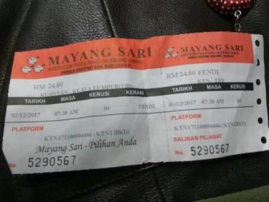 Bus ticket half price