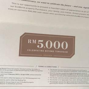Eco World RM5,000 Voucher (transferable)