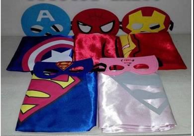 Costume Superhero Kostum Superman Spiderman IronMa