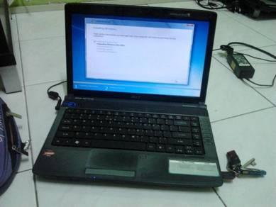 Laptop komputer format servis dan repair