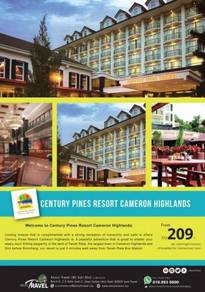 2D1N Century Pines Resort Cameron Highlands