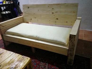 Sofa Pine wood