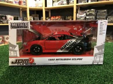 Jada 1995 Mitsubishi Eclipse #99105 Red (1:24)
