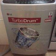 LG 11 KG top load washing machine