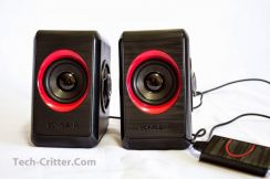 Speaker Sonic Gear Quatro 2 Red New