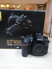 Nikon d7100 body (sc 22k only) 99% new