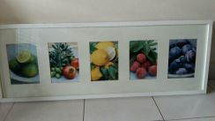 Kitchen art painting with frame