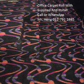 Modern Office Carpet roll with Install 5487897kj
