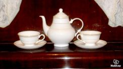 Trois Cadena Han Bone China Tea/Coffee Set - 5 Pcs