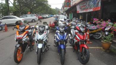 Honda rs150 rs 150 R Wang Muka Seribu
