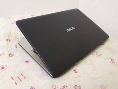 Laptop asus intel core i5 7th gen
