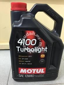 MOTUL 4100 TurboLight Semi 10W40 - 5 Lit EngineOil