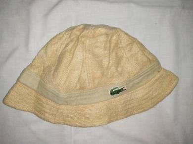Lacoste Bucket Hat - Made in Japan - 59cm