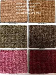 Office Carpet Roll Modern With Install գֆ5հ48