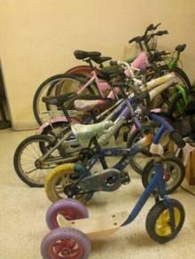 7 Units basikal ada Mtb probike cincai sekali clea