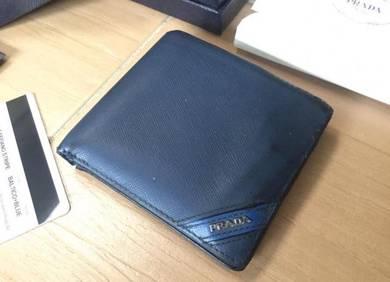Authentic Prada wallet singapore orchard