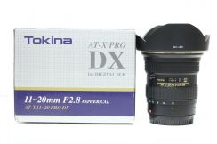 Tokina 11-20mm f2.8 AT-X11-20 Pro DX Lens (Canon)