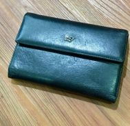 Braun Buffel purse