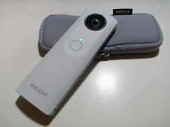 Ricoh Theta 360 degree review camera