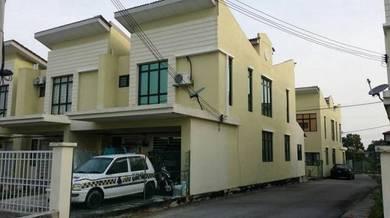 [END LOT, 20 x 70 ft] Rumah Teres 2 Tingkat di Bukit Saujana
