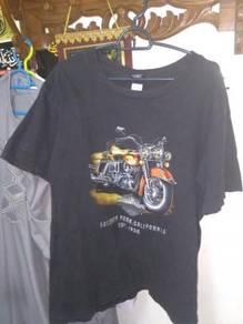 T shirt motor Harley Davidson original size L