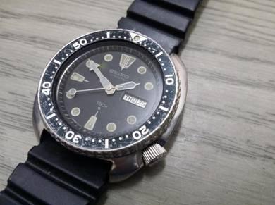 Seiko Diver Turtle watch