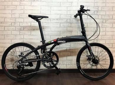 NEW ROCHER 9SPEED folding bike bicycle SHIMANO TRS