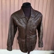 Authentic Preloved London Fog Leather Jacket