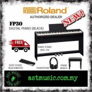 Roland Fp30 FP-30 Digital Piano With Stand - Black