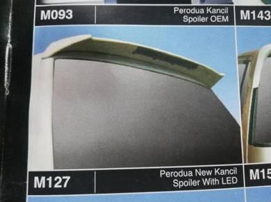 PERODUA kancil spoiler with LED 2002