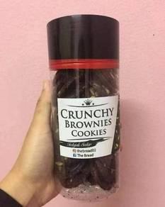 Crunchy Brownies Cookies