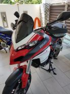 Multistrada 1200 DVT engine CBU italy