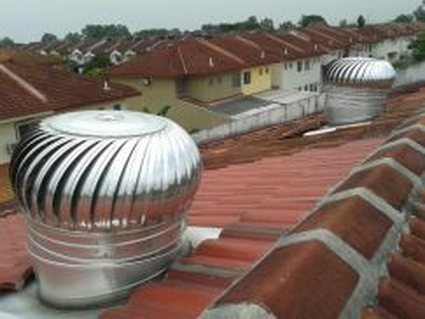 Turbine ventilator free a/vent dan pemasangan