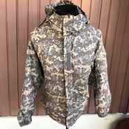 Authentic Preloved Camouflage Army Jacket