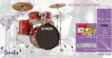 Yamaha Stage Custom Acoustic Drum