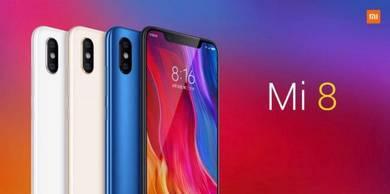 Xiaomi Mi8 128GB ROM + 6GB RAM Ori Xiaomi Malaysia