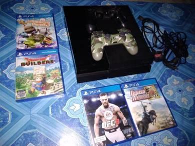Ps4 2 joystick ori 4 cd game