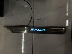 Proton saga new side steel pad oem with led light
