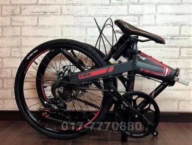 2018 TOPAZ 7SPEED folding bike bicycle BASIKAL TRS